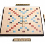 Gift of the Day: Coach leather scrabble set