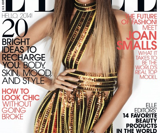 Joan Smalls gets her Elle US January cover, wears Givenchy