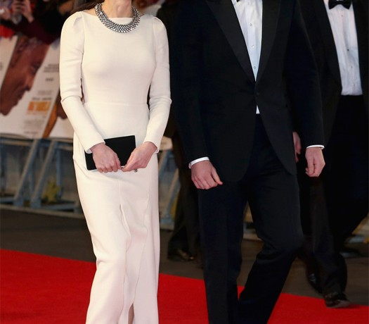 Kate Middleton wears Roland Mouret at Nelson Mandela 'Long Walk To Freedom' premiere