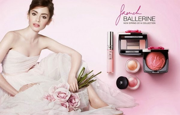 Lily Collins is the new face of Lancôme!