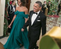 Michelle Obama is magical in Marchesa