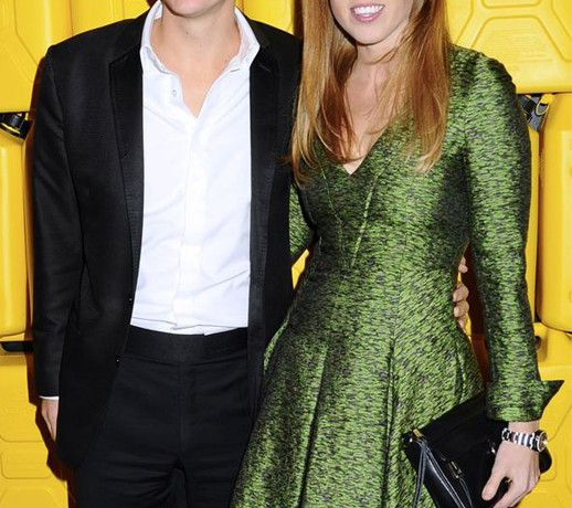 Princess Beatrice recycles her Jonathan Saunders