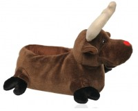 Gift of the Day: Deichmann reindeer novelty slippers
