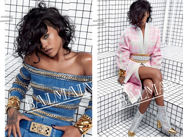 First look: Rihanna for Balmain