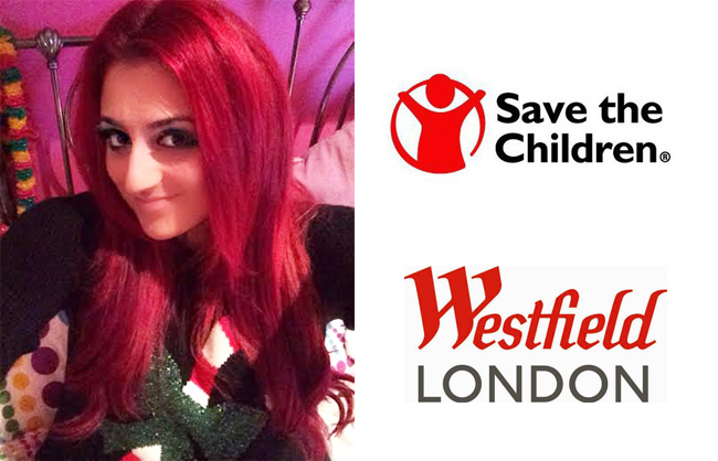 save the children westfield selfie