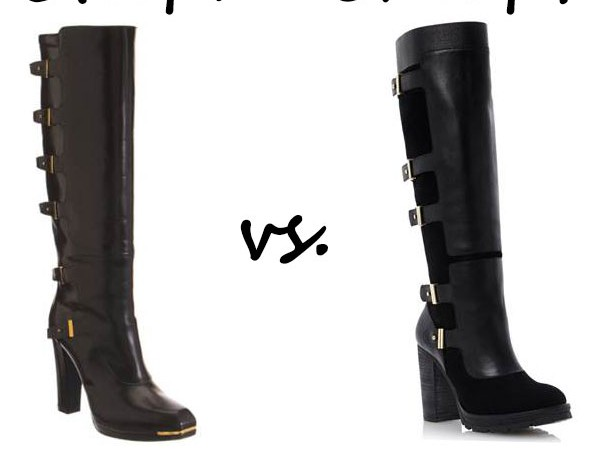 Steep vs. Cheap: Heeled boots