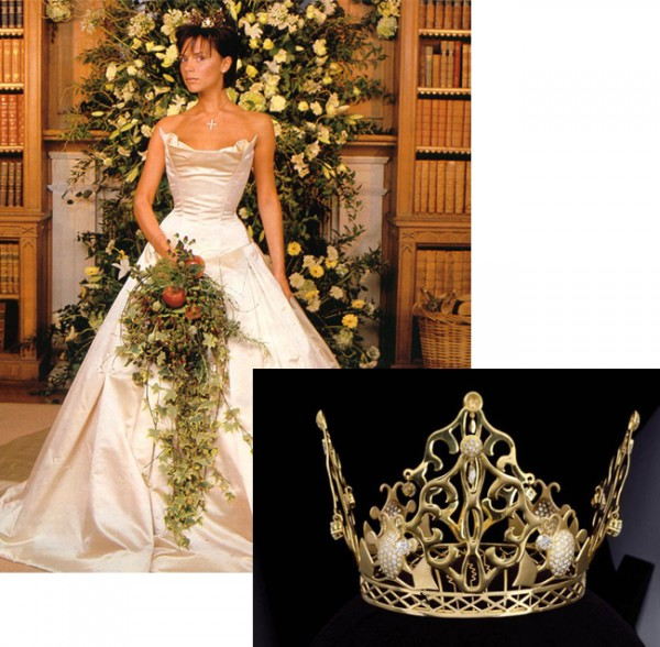 Victoria Beckham's wedding crown failed to sell at auction…