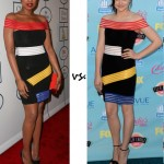 Jennifer Hudson vs. Chloë Moretz…who wore Christopher Kane better?