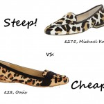 Steep vs. Cheap: Leopard-print flats