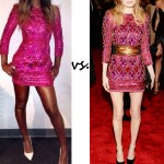 Kelly Rowland vs. Kate Bosworth…Who wore Balmain better?