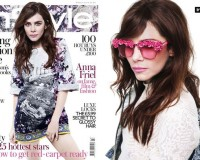 Anna Friel wows in Dolce and Gabbana for InStyle UK March cover