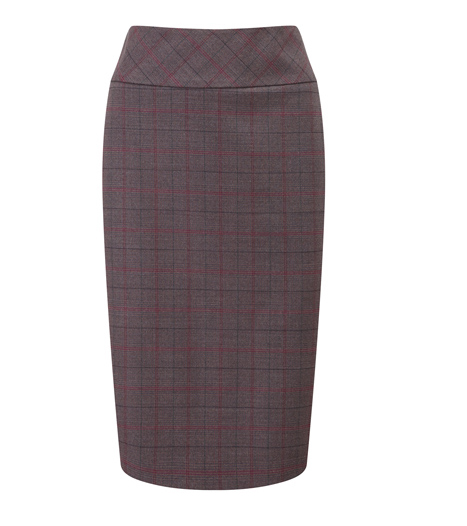 Lunchtime Buy Austin Reed Purple Check Wool Skirt My Fashion Life