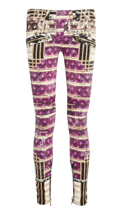 Lunchtime Buy: Balmain printed low rise skinny jeans
