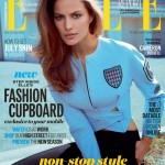 Cameron Russell lands Elle UK's February cover