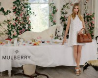 Cara Delevingne and some animal friends are back for Mulberry's SS14 ad campaign