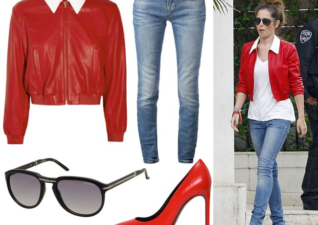 Get Cheryl Cole's red hot Cape Town look