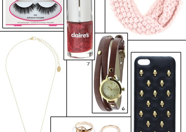 7 need-now items from Claire's