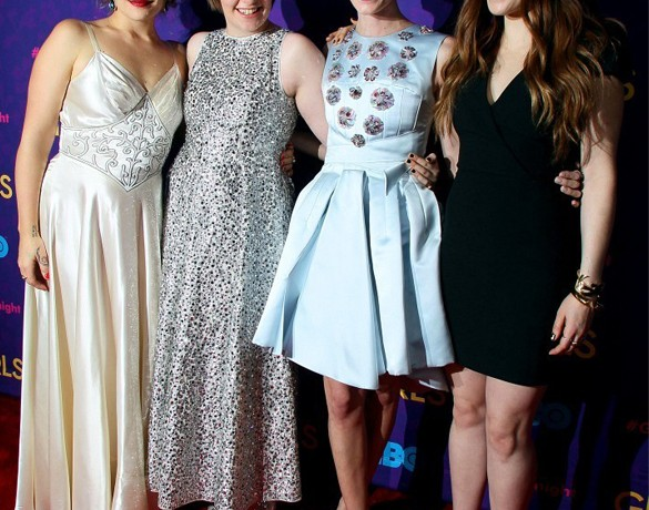 Lena Dunham, Allison Williams and the rest of the Girls cast wow on Season 3 premiere red carpet