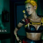 Kate Moss is the (haunting) new face of Alexander McQueen!