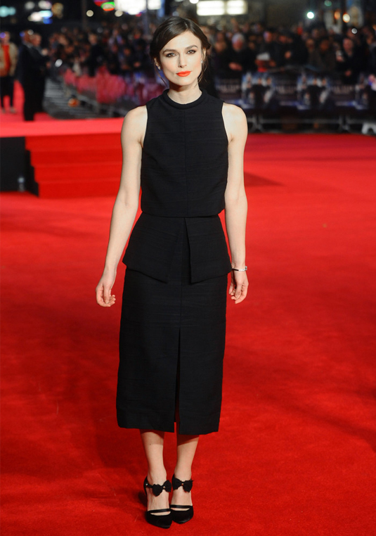 Keira Knightley underwhelms at Jack Ryan: Shadow Recruit premiere