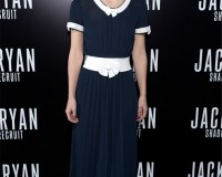 Keira Knightley is chic and dramatic in Chanel