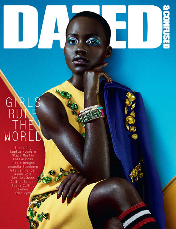 Lupita Nyong'o for Dazed and Confused's 'Girls Rule the World' issue