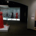 Michelle Obama's red Jason Wu Inauguration gown goes on display