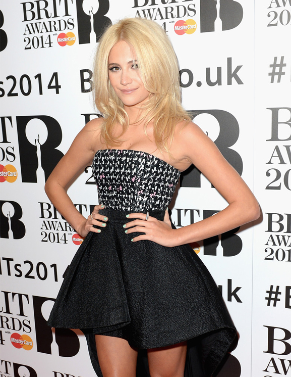 Pixie Lott dazzles in Dior for Brit Awards nominations
