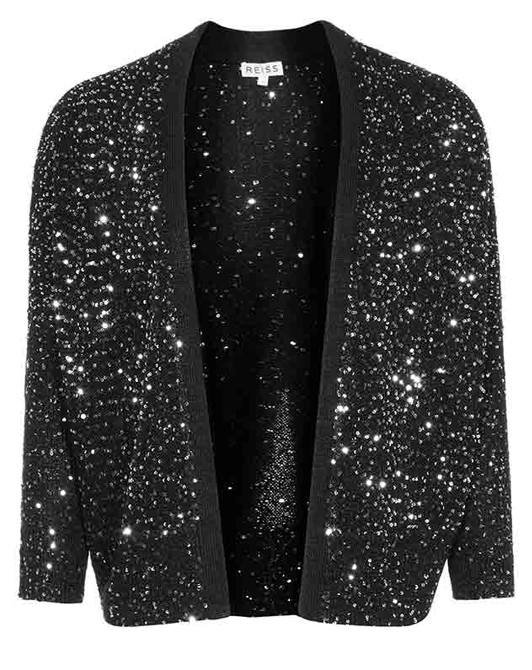 Lunchtime Buy: Reiss leele luxe sequin cardigan