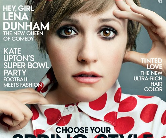 The rumours were true: Lena Dunham lands Vogue US February cover!