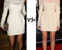 Atlanta de Cadenet vs. Allison Williams…Who wore Valentino better?