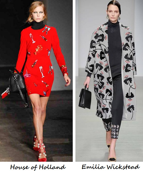 London Fashion Week AW14 highlights from Emilia Wickstead, Joseph, Hunter Original & more