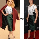 Paloma Faith vs. Sandra Bullock…Who wore Burberry Prorsum better?