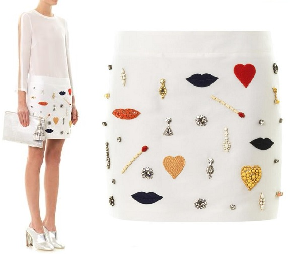 Stella McCartney Surrealist mini skirt: Yay or Nay?
