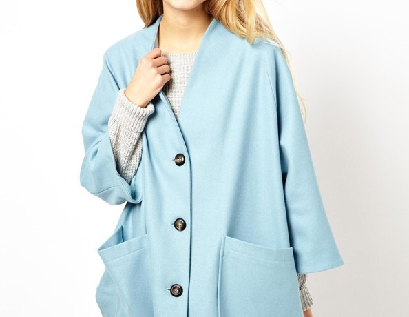 Lunchtime Buy: ASOS Trapeze button front coat