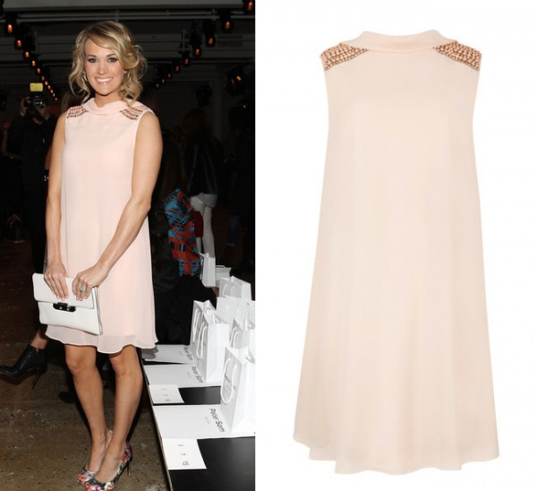 Get Carrie Underwood's romantic Ted Baker look