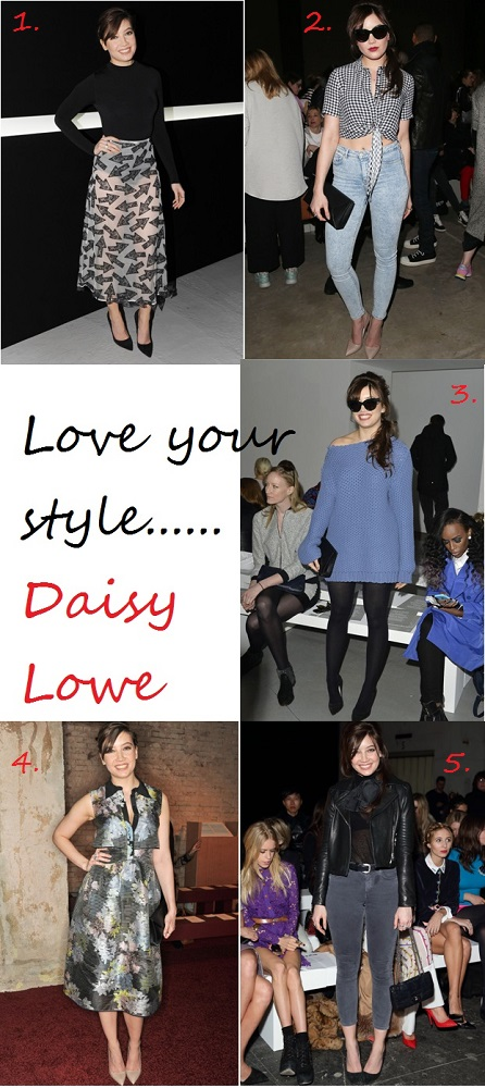 Daisy Lowe shows us 5 stylish ways to wear Rupert Sanderson's Elba pumps. We love look #3!