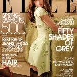 Fifty Shades of Grey's Dakota Johnson poses seductively for Elle US March