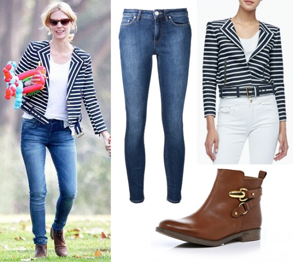 Get January Jones' cropped Rachel Zoe look