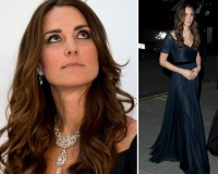 Kate Middleton wows in Jenny Packham and The Queen's necklace