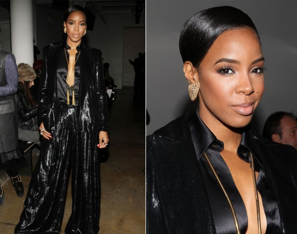 Is Kelly Rowland's Houghton NYFW look grand or garish?