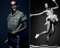 Lupita Nyong'o showcases her modelling talent in Vogue Italia's February issue