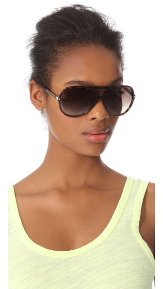 Marc Jacobs Oversized Aviator Sunglasses  my fashion life