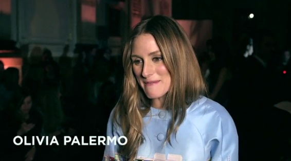 WATCH: Olivia Palermo on London Fashion Week….
