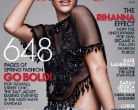 Rihanna covers Vogue US March issue in Louis Vuitton