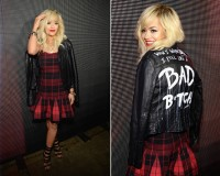 "Rita Ora feels ""like a bad b*tch"" on DKNY front row"