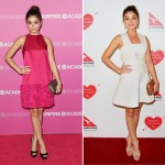 Sarah Hyland owns the red carpet in two stand-out dresses in Sydney