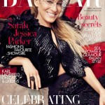 Sarah Jessica Parker in Louis Vuitton for Harper's Bazaar UK April