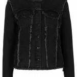 Lunchtime Buy: Moto collarless denim jacket