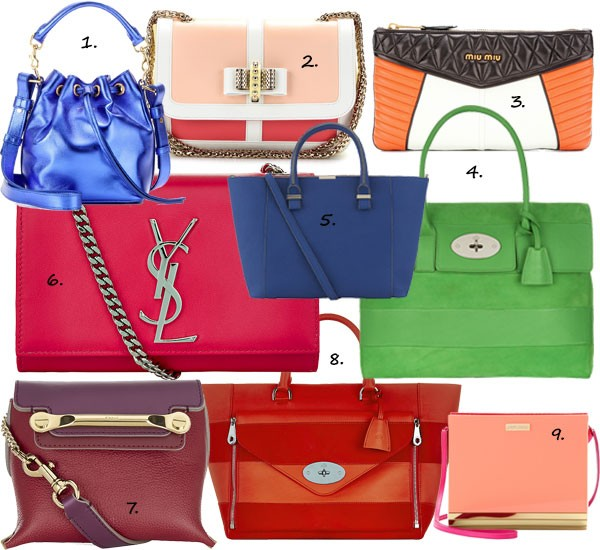 9 bold bags to make your wardrobe go bang!